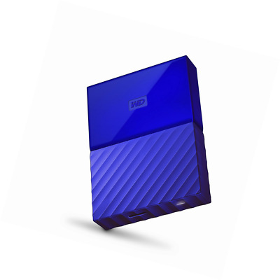 WD My Passport 3 TB Portable Hard Drive and Auto Backup Software for PC, Xbox