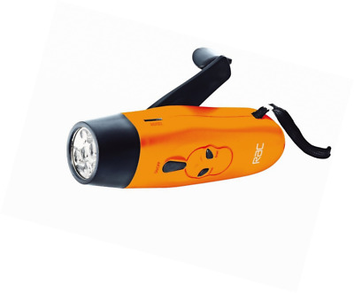 RAC Wind Up LED Torch with FM Radio