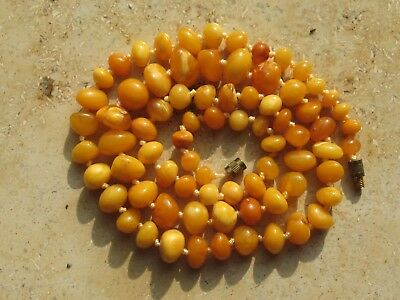 Bernstein Kette Bernstein Collier butterscotch baltic amber necklace