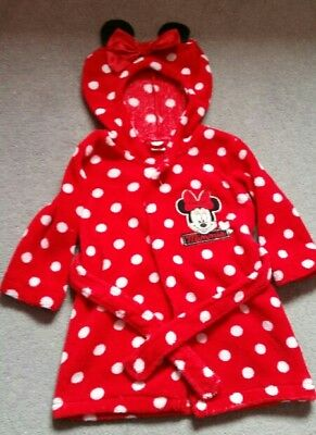 Disney Mini Mouse Dressing Gown 9-12 months