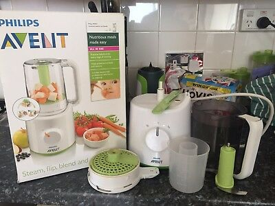 Philips AVENT Combined Steamer and Blender - broken lid but working perfectly