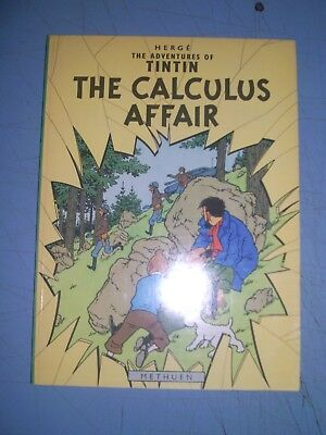 Tintin The Calculus Affair 1975 Methuen Softback