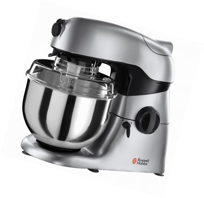 russell hobbs 18557 stand mixer kitchen machine 800w 4 6 litre capacity cream a. Black Bedroom Furniture Sets. Home Design Ideas