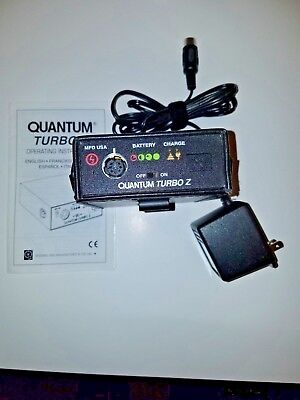 Quantum Turbo Z battery ,Used   with charger