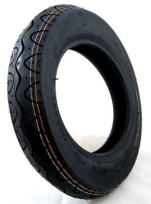 90/80-8 Black Mobility Scooter Tyre fits Drive Royale 4 & Rascal Vision Front