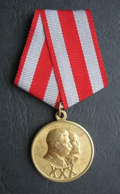 "RUSSIAN SOVIET RUSSIA USSR Jubilee Medal ""30 Years of the Soviet Army and Navy"""