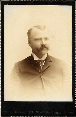 Cabinet Photo, Stafford Springs Ct.   Baker, Company Excellent Condition