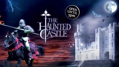 Warwick Castle Halloween x4 Tickets. Saturday 28th October 17