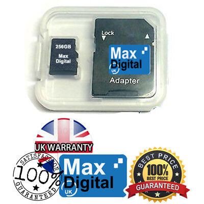 256GB MICRO SD MEMORY CARD FOR MOBILE PHONES , CAMERAS , TABLETS & etc.