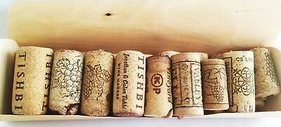 original collection 18 corks of  Israeli wine
