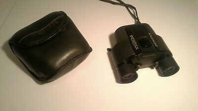 Pentax Binoculars 8x24 7.5 degree Japan Case Bag