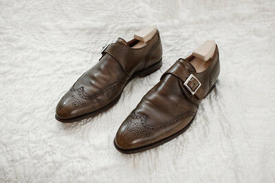 George Cleverley - Genuine Mens Monkstrap Brogues - Uk 9E/eu 42