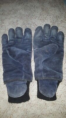 Shelby FDP Structural Firefighters Gloves Size Large Gauntlet Wrist