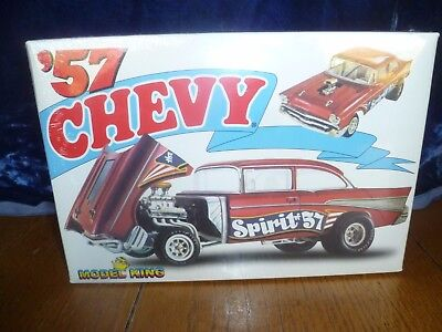 Model King 1:25 scale '57 Chevy Spirit of '57Model Kit, NIB 2007