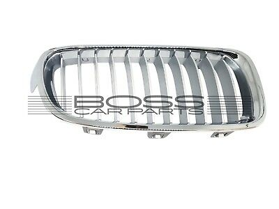 Bmw 3 & 3 Gt F30/f31/f34/f35 2012 Front Left Chrome&silver Grill 20D10510