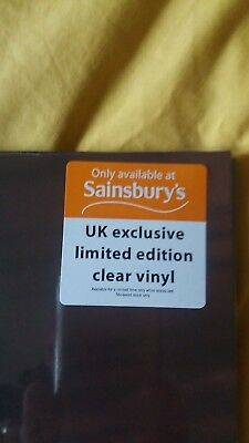MADONNA - Like A Virgin - clear vinyl - UK Only Exclusive Edition RARE LIMITED