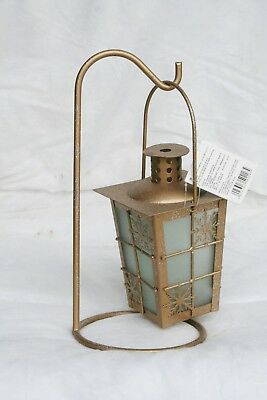 Wholesale stock job lot Garden Metal T-Lite lantern with Stand Christmas x11