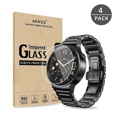 (Pack of 4) Akwox Screen Protector for Huawei W1 Smartwatch.