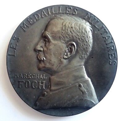 MEDAL silver The medals military marechal FOCH (T183)