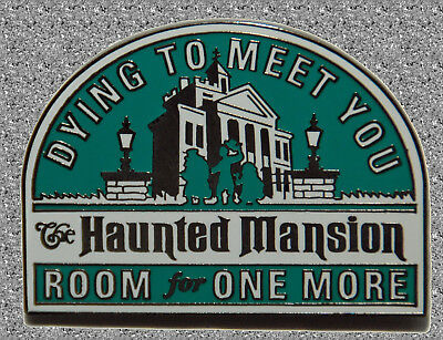 Pin Odyssey 2008  Haunted Mansion Pin -Decals Collection - DISNEY Pin LE 1000