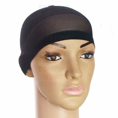 Hair wig cap net mesh liner snood Hijab stocking stretching breathable unisex