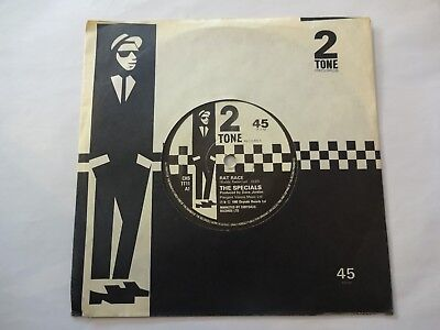 "THE SPECIALS - Rat Race / Rude Buoys Outa Jail - 7"" Vinyl  -  TWO 2 TONE SKA"