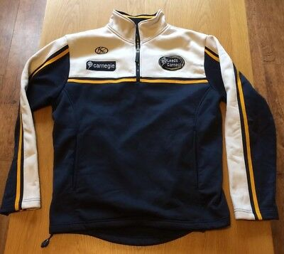 Leeds Carnegie rugby training top/jacket size XS