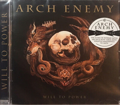 Arch Enemy – Will To Power (CD Album) BRAND NEW SEALED