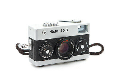 """Rollei 35 S silber HFT Sonnar 2,8 / 40 mm """"nice condition"""""""