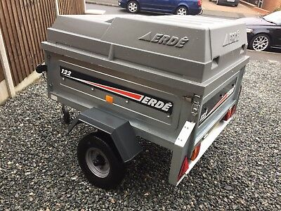 Erde 122 Trailer With Hard Top
