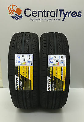 X2 New Tyre 205 55 R16 91W M+S Boto Genesys With Amazing C+E Rating Cheap