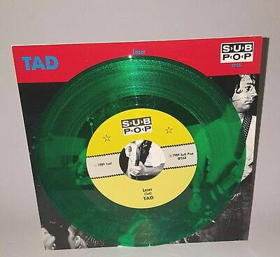 TAD Loser GREEN VINYL SP55 Sub Pop Grunge Nirvana Mudhoney Soundgarden The Fluid