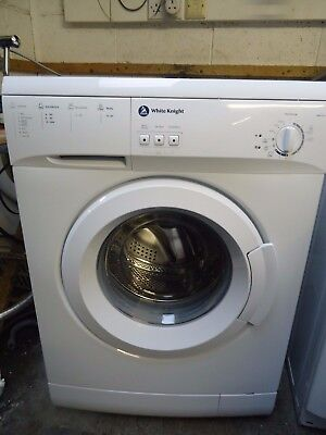 White Knight Wm105W Washing Machine 1000 Spin With 6Kg Load In White