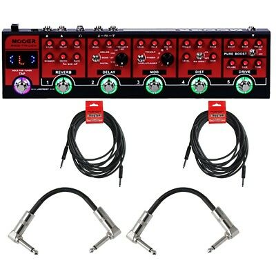 Mooer Red Truck Combines Guitar Effects Pedal with Cables