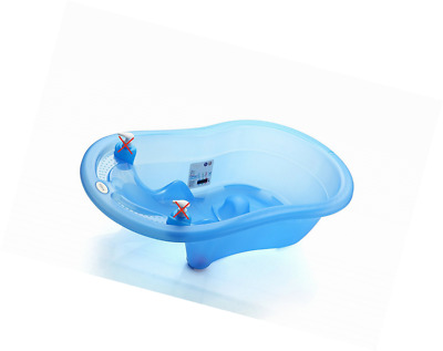 Baby/Toddler Bath Tub With Temperature Display by duqqy (Blue)