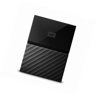 WD My Passport 2 TB Portable Hard Drive and Auto Backup Software for PC, Xbox