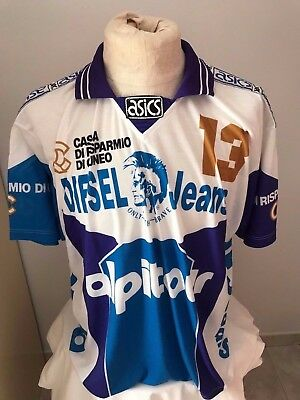 Maglia volley Alpitour Cuneo n 13 match worn 1990 shirt  pallavolo jersey asics