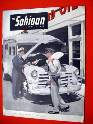 Standard Oil Sohio Magazine Lake Central Airline Chevrolet Armored Truck Cover