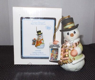 "Precious Moments Share The Love Ornaments ""A Star Is Born"" NIB Christmas"
