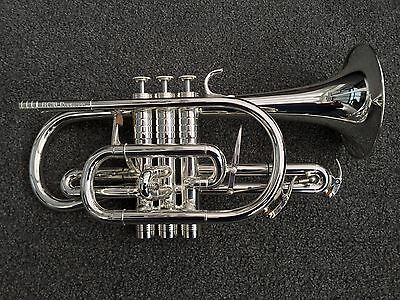 Catelinet HC-20-S Rousseau Bb Cornet-#NEW#Large Bore, Pro Level Instrument-