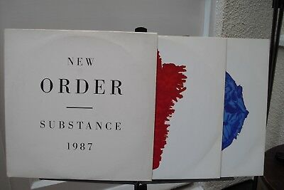 New Order : Double LP : Substance 1987