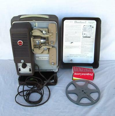 Kodak Showtime 8 Model A-25 8Mm Movie Projector With New Lamp Refurbished