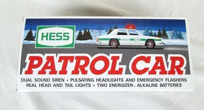 Hess 1993 Patrol Car With Working Lights  New In The Original Box