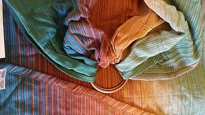 NWT Girasol Bloom Ring Sling Cotton Handwoven Baby Carrier Gorgeous!