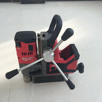 """Used Milwaukee 2787-22 M18 FUEL 1-1/2"""" cordless Magnetic Drill Metal drilling"""