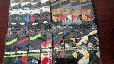 240 Pairs  Classic design  Men`s socks Colour Wholesale job lots size 6-11