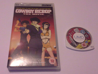 Cowboy Bebop: The Movie For Sony PSP UMD, 2005 Film Worldwide Fast Post! Anime