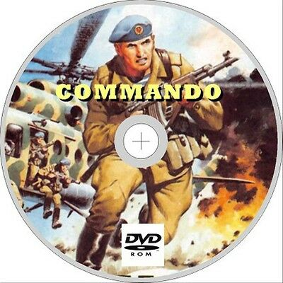 Commando Comics on dvd rom, Issues 350+, War Stories, British