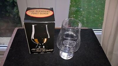 Edradour WhiskyThe Blenders Malt Style Glass By Glencairn Crystal Studio's Boxed