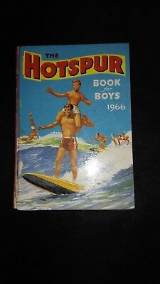 The Hotspur Book For Boys 1966 Vintage Adventure/Action Annual